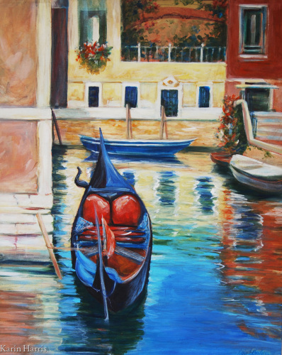 Venice Canel by Karin Harris