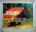 Barn and Tractor (thumbnail)