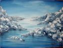 Painting--Oil-SeascapeRocky Seascape