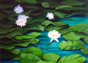 Pine Needles and Lilly Pads (thumbnail)