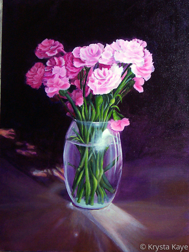 Pink Carnations (large view)