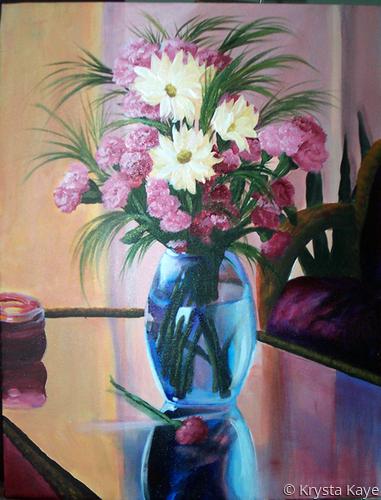 Still Life Flower Vase