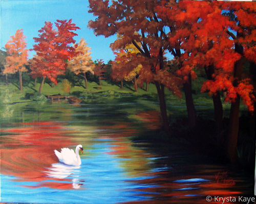 Lori's Painting (large view)