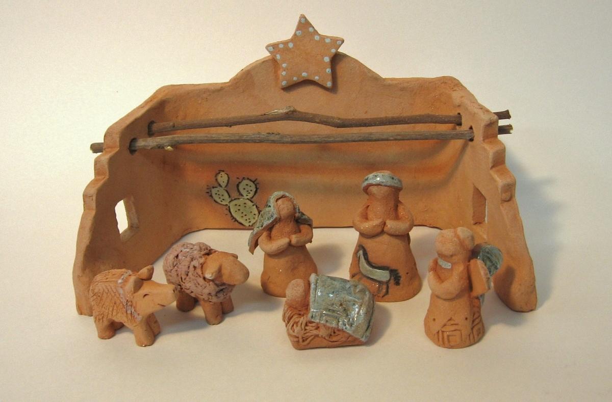 Sedona Nativity Set (large view)
