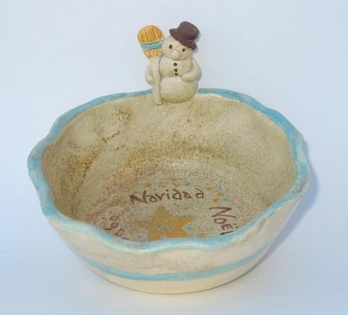 Snowman Bowl (large view)