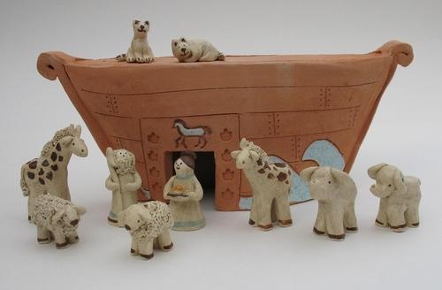 Noah's Ark by Karlene Koch Voepel