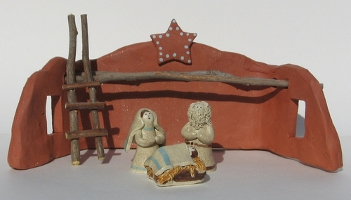 Starter Nativity Set by Karlene Koch Voepel
