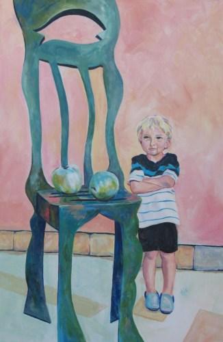 Art Critic by Karlene Koch Voepel