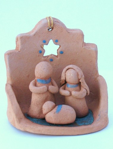 3D Nativity Ornament