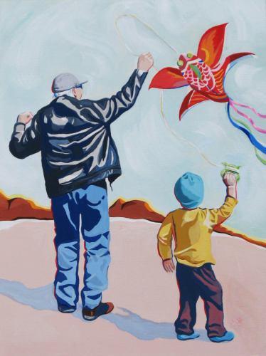 Me and Grandad are like Brothers by Karlene Koch Voepel