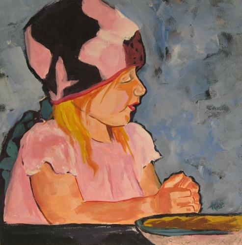 A Child's Prayer 2 by Karlene Koch Voepel
