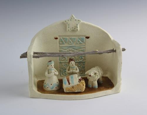 Arizona Plus Nativity by Karlene Koch Voepel