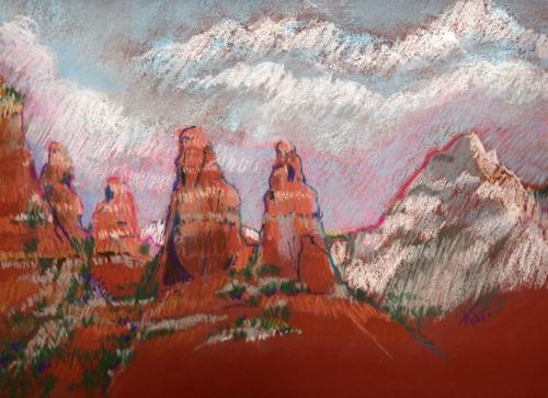 Two Nuns, Sedona Red Rocks
