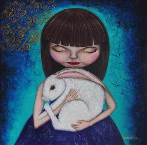 ADRIA AND WHITE RABBIT