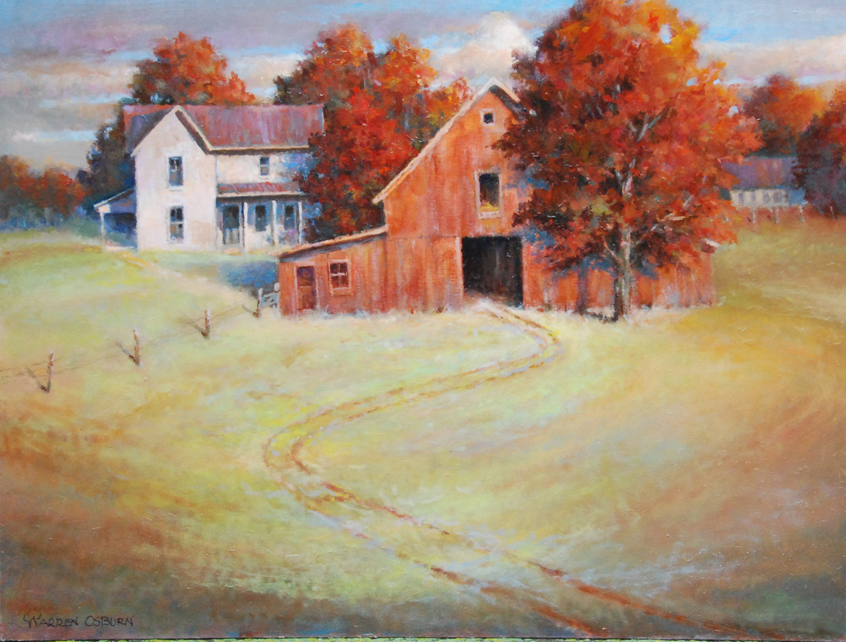 Autumn Farm (large view)