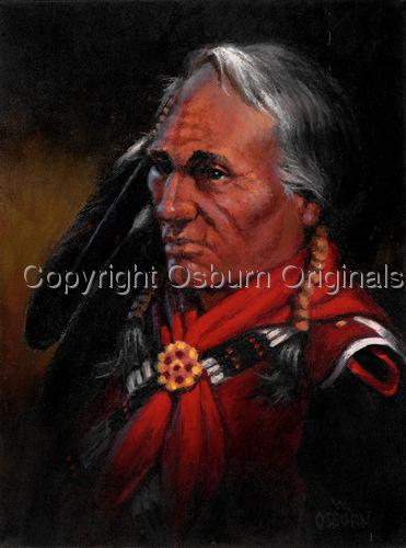 Red Earth Patriarch by Osburn Originals