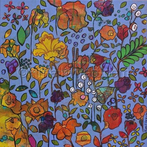 """Fields of Flowers #13 'SHINING STAR"""""""