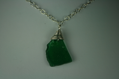 Sea Glass - Emerald Green