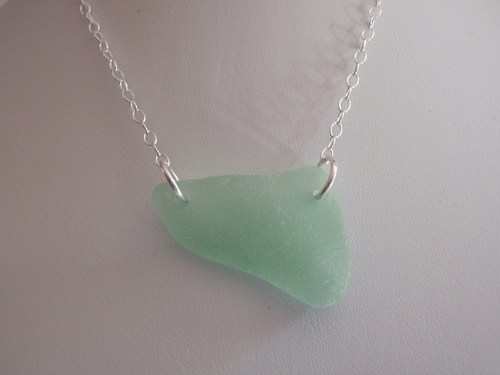 Double Drilled Sea Glass (large view)