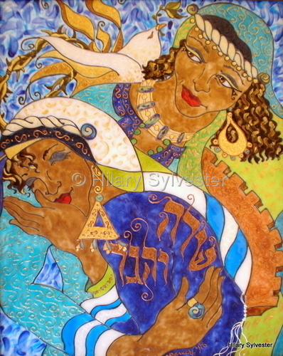 Sarah & Hagar - The Reconciliation (large view)