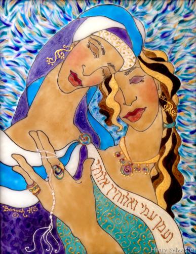 Ruth & Naomi by Hilary Sylvester