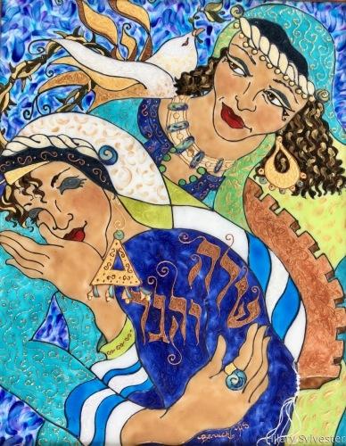 Sarah & Hagar by Hilary Sylvester