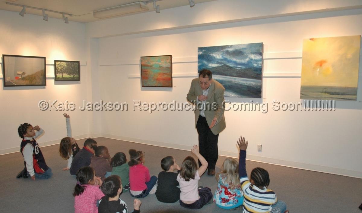 """Mother Earth/Unusual Landscapes"" A group show of works by Denise Adler, Deborah Freedman, Kate Jackson and Elizabeth Koszarski. Guild Gallery II, Hudson Guild Fulton Center 119 Ninth Avenue, New York, NY Nov.15th 2007-Feb.29th 2008 (large view)"