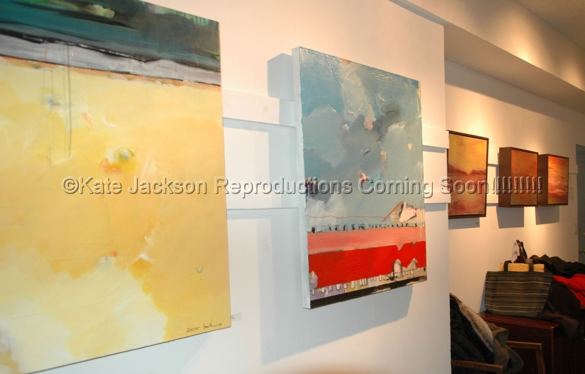 "-""Mother Earth/Unusual Landscapes"" A group show of works by Denise Adler, Deborah Freedman, Kate Jackson and Elizabeth Koszarski. Guild Gallery II, Hudson Guild Fulton Center 119 Ninth Avenue, New York, NY Nov.15th 2007-Feb.29th 2008 (large view)"