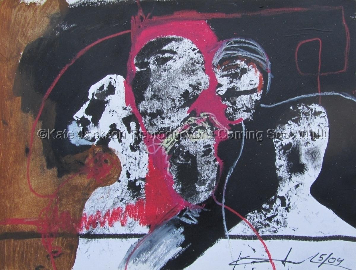 """""""Five Saints"""" 2004 (large view)"""