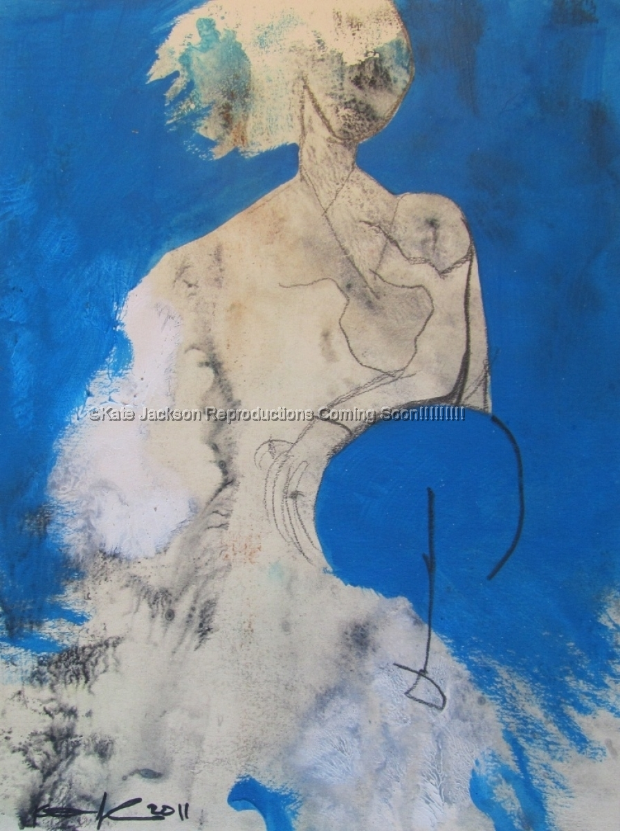 """""""The Woman is Blue"""" 2011 (large view)"""