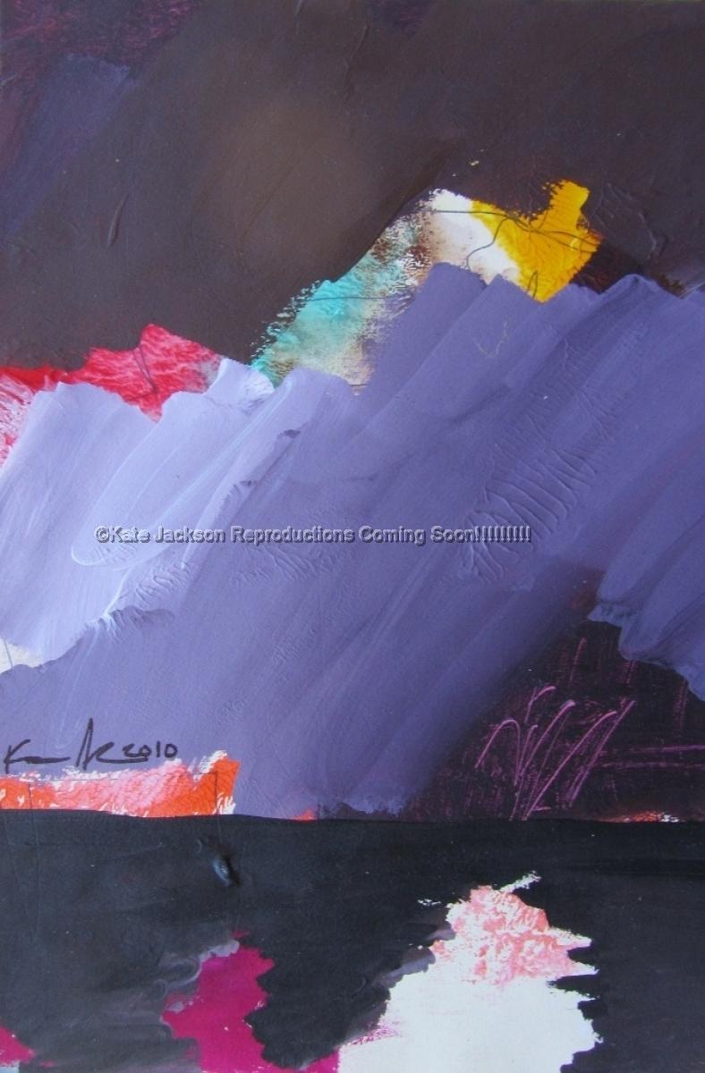 """""""Purple Sky Landscape"""" 2010 (large view)"""
