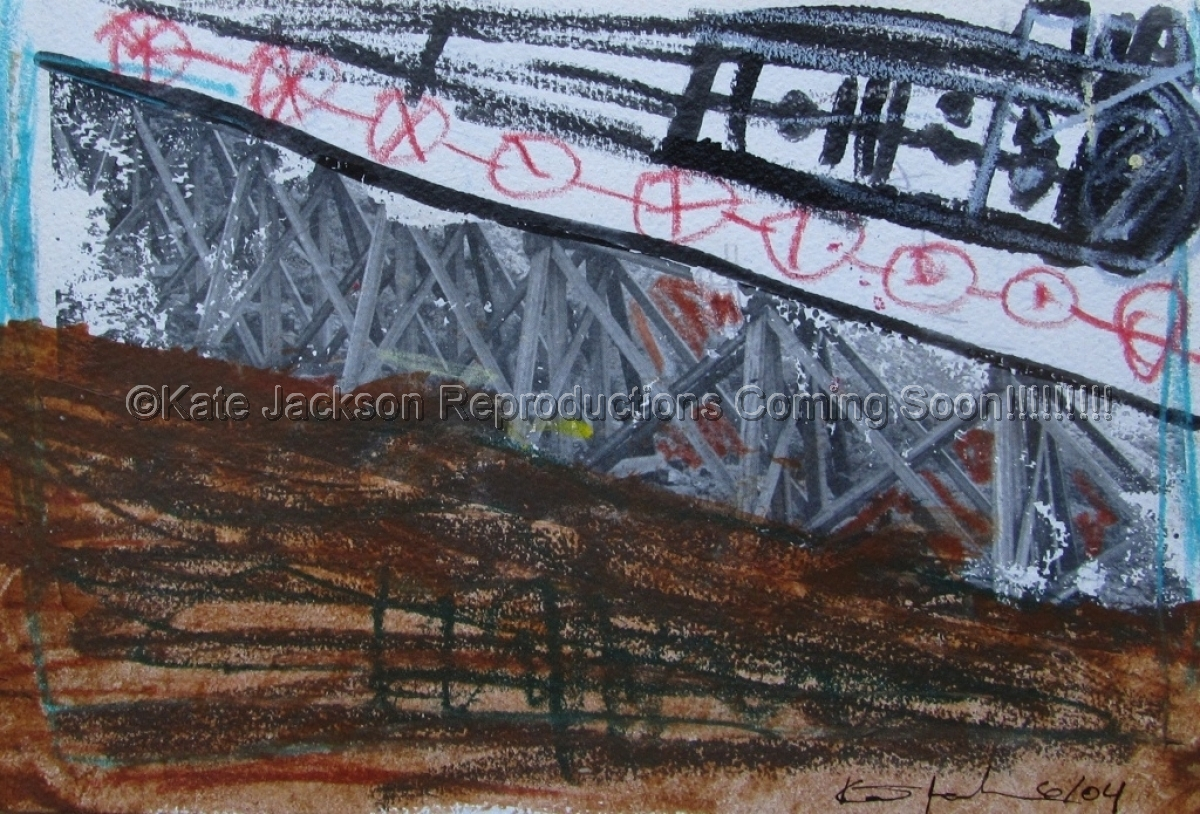 """""""On the Right Track"""" 2004 (large view)"""