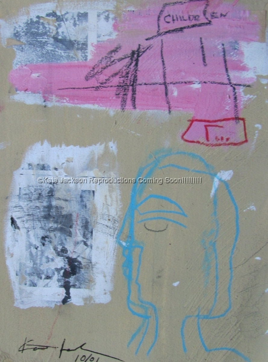 """""""Child's Drawing"""" 2001 (large view)"""