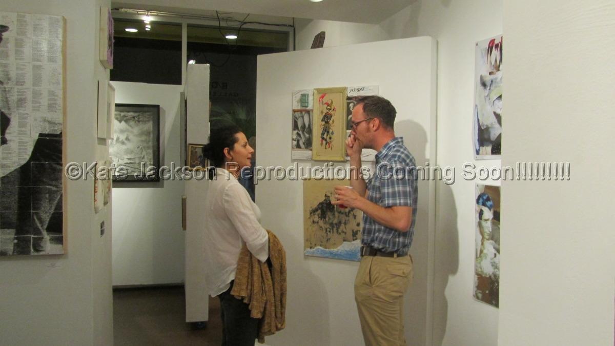 """Joe Bush and I @ BG Gallery"" :)  (large view)"