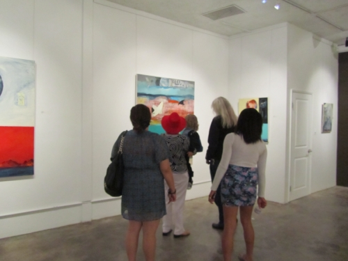 "-""The Walk Inside"" David Skinner and Myself. Blue Five Art Space and Bleicher Galleries. Aug.15-Sep.8 2011  (large view)"