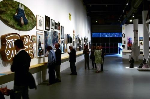 "MOCA's ""Fresh"" Silent Auction 2009 (large view)"