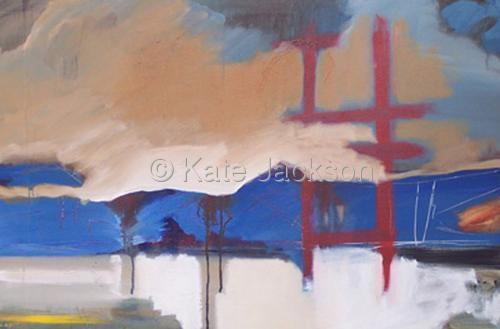 """""""Red Bridge"""" (large view)"""