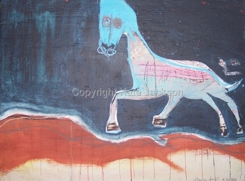 """""""Untitled Horse""""  (large view)"""
