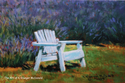 Painting--Pastels-LandscapeAt the Edge of the Fields