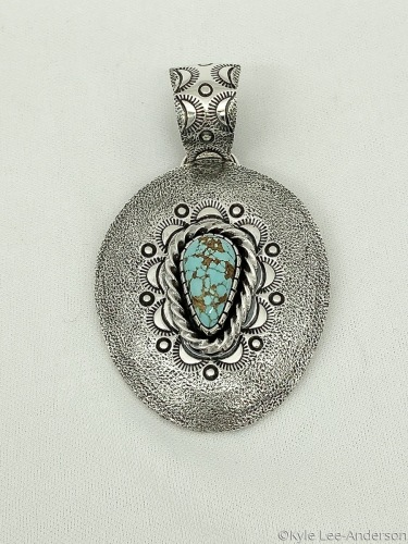 Number8 pendant by Kyle Lee-Anderson Jewelry