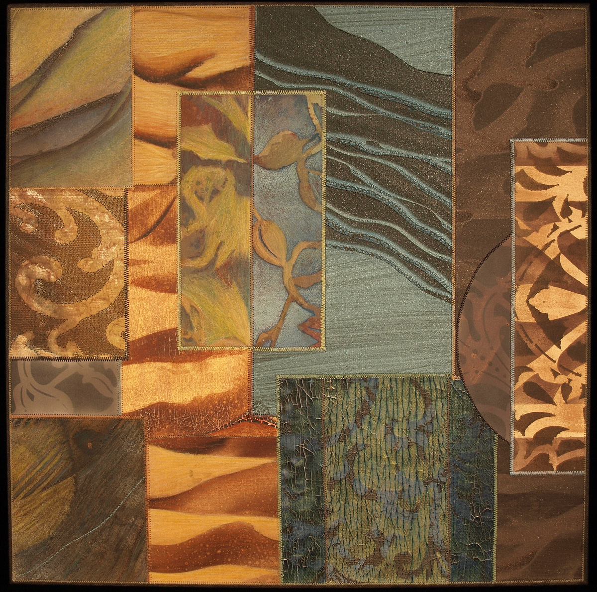 Unexpected Turns (right panel of triptych) (large view)