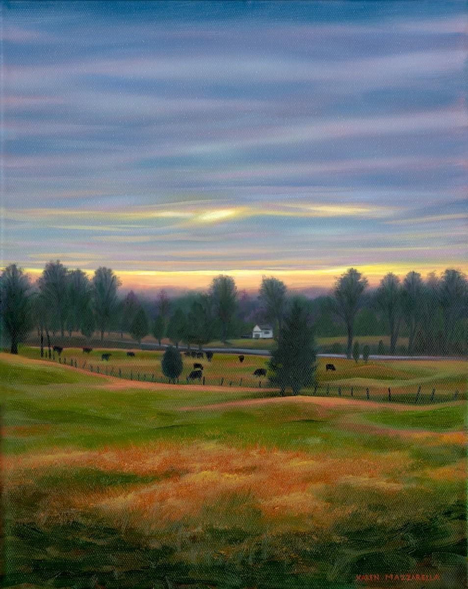 Pasture at Dawn (large view)