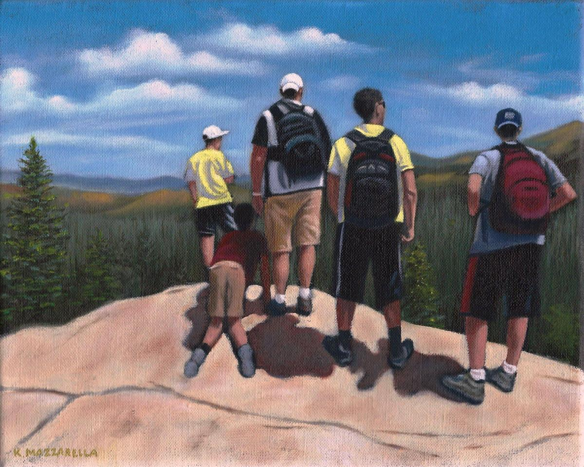 Colorado Hikers (large view)