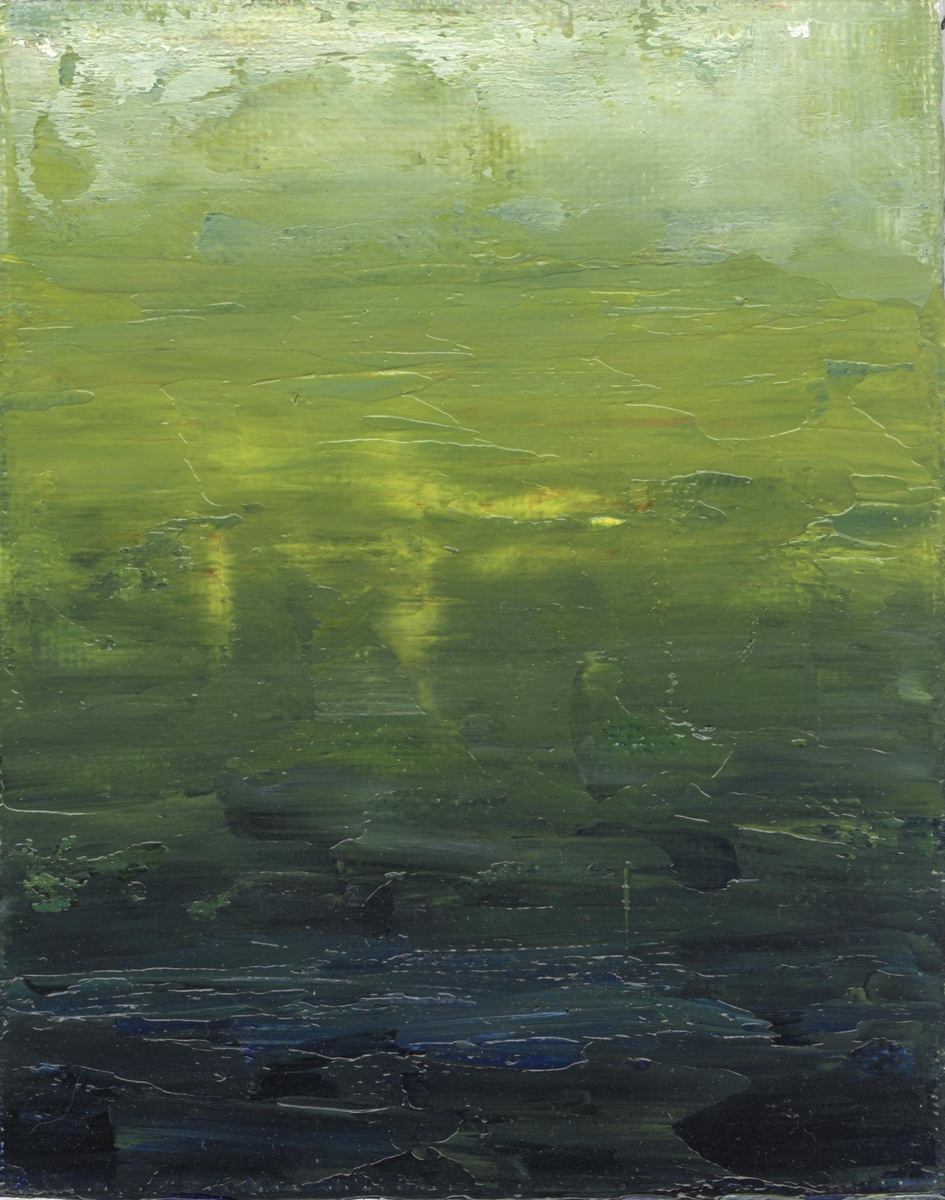 green texture abstract painting modern (large view)