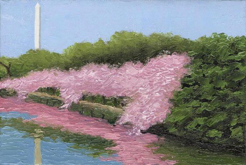 Cherry Blossoms Elemental (large view)