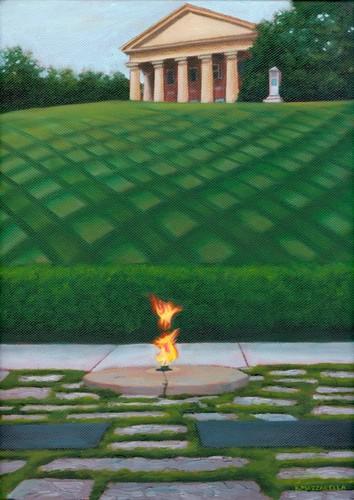 John F Kennedy Memorial, Arlington House