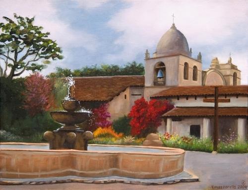 Carmel Mission (large view)