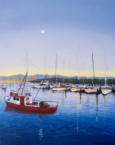 Monterey Harbor (large view)