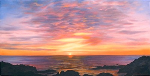 Pacific Grove Sunset (large view)