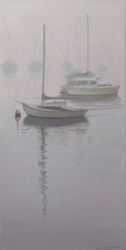 Foggy Monterey Harbor (large view)